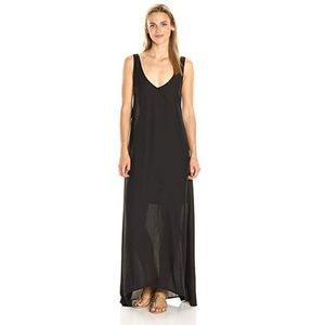 SHOW ME YOUR MUMU BLACK KIERSTEN MAXI DRESS